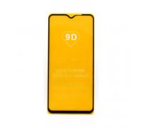 Защитное стекло 3D для Xiaomi Redmi 9 черный (техпак)