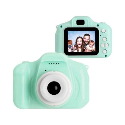 Детский фотоаппарат D600 бирюзовый