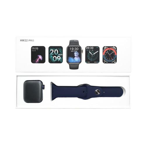 Смарт-часы HW22 PRO темно-синий APL