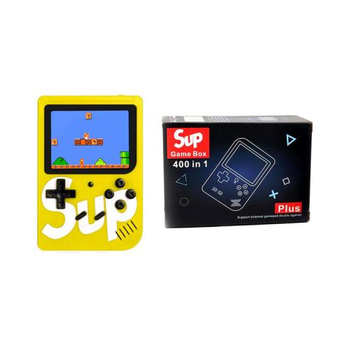 Игровая приставка SUP GAME BOX Plus 400 в 1 жёлтый