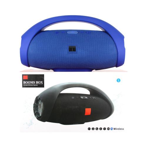 Портативная колонка BOOMS BOX 34см синий JB