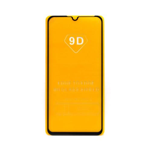 Защитное стекло 3D для Xiaomi Mi A3 черный (техпак)