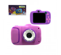 Детский фотоаппарат X11 + ремешок сиреневый