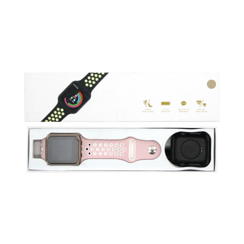 Смарт-часы F8 розовый APL