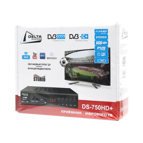 Цифровой TV-тюнер DS-750HD+ DELTA