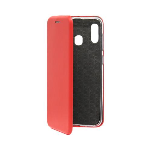 Чехол-книжка для Samsung Galaxy A20/A30 красный