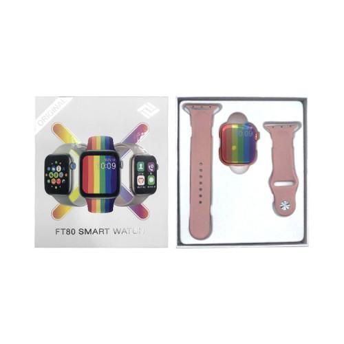 Смарт-часы FT80 розовый APL