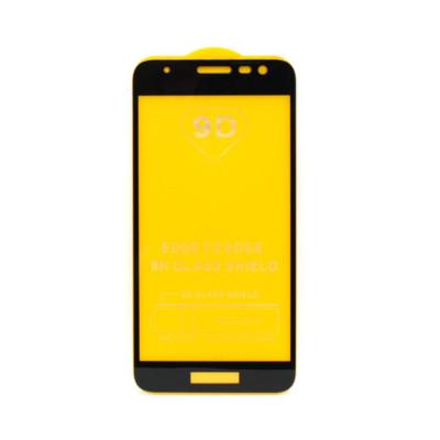 Защитное стекло 3D для Samsung Galaxy J2 Core 2019 черный (техпак)