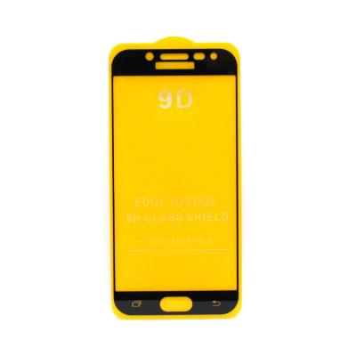 Защитное стекло 3D для Samsung Galaxy J5 2017 черный (техпак)
