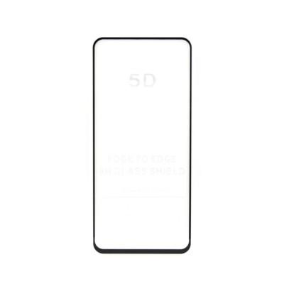 Защитное стекло 3D для Xiaomi Redmi K30 черный (техпак)
