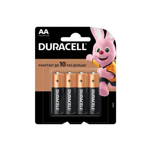 Батарейки LR6 AA DURACELL 4шт. (К)