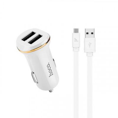 АЗУ 2USB Z1 + кабель Micro USB HOCO