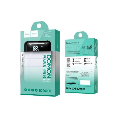 Внешний аккумулятор B29 10000mAh белый HOCO