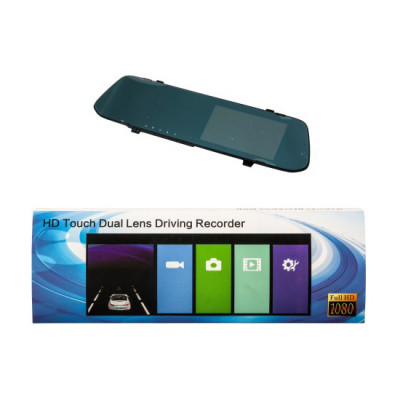 Видеорегистратор-зеркало DVR190 сенс. (2 камеры)