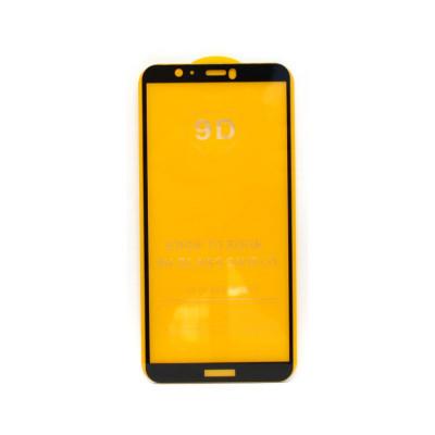 Защитное стекло 3D для Huawei Honor 7S/P Smart 2018 черный (техпак)