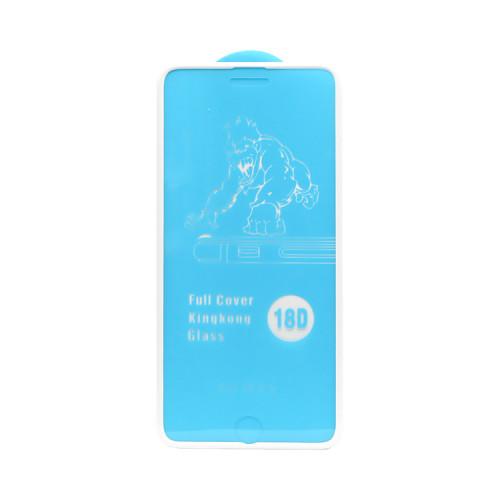 Защитное стекло 18D для Apple iPhone 6+/7+/8+ рамка белый