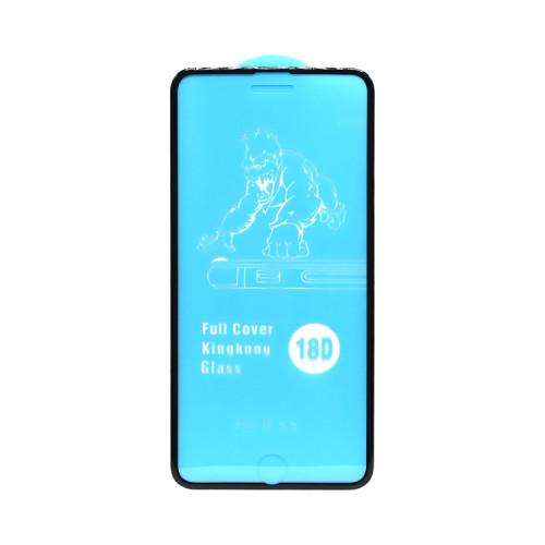 Защитное стекло 18D для Apple iPhone 6+/7+/8+ рамка черный