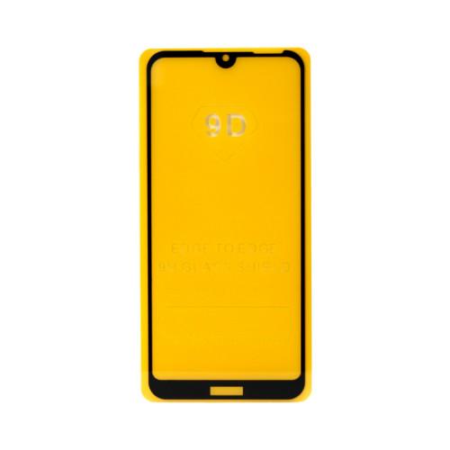 Защитное стекло 3D Huawei Y6 2019/Honor 8A черный (техпак)