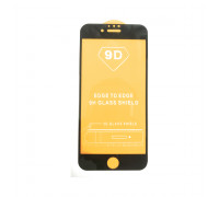 Защитное стекло 3D для Apple iPhone 7/8 черный (техпак)