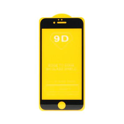 Защитное стекло 3D для Apple iPhone 6/6S черный (техпак)