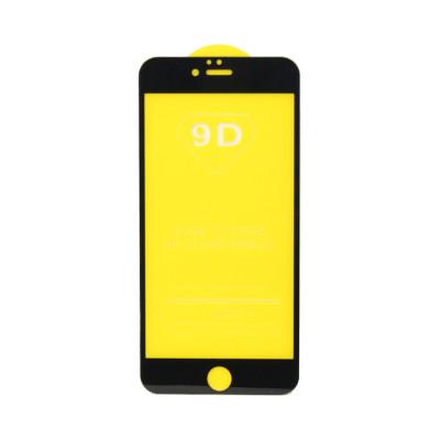 Защитное стекло 3D для Apple iPhone 6+/6S+ черный (техпак)