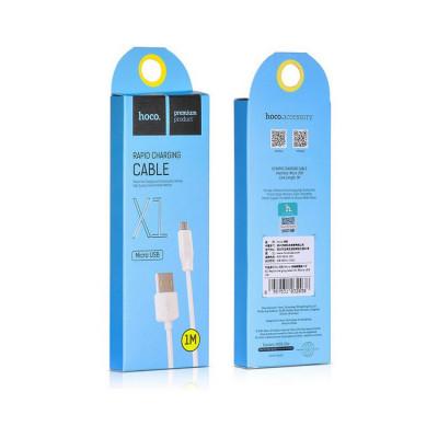Кабель Micro USB X1 белый HOCO