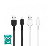 Кабель Micro USB X13 2.4A черный HOCO