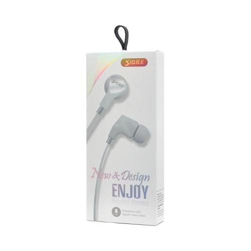 Наушники с микрофоном SE1003 белый SIQILE