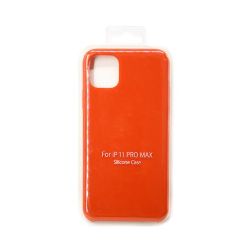 Накладка для Apple iPhone 11 Pro Max морковный S-CASE