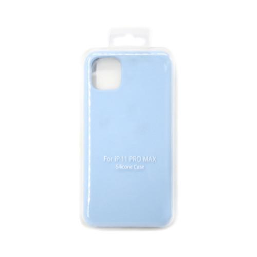 Накладка для Apple iPhone 11 Pro Max нежно-голубой S-CASE