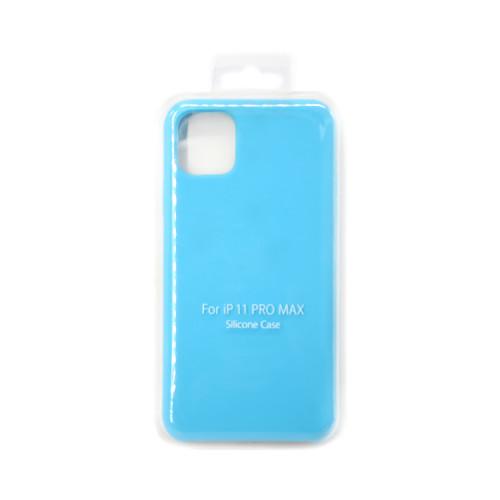 Накладка для Apple iPhone 11 Pro Max ярко-голубой S-CASE