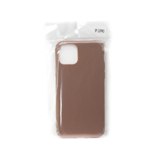 Накладка для Apple iPhone 11 Pro Soft Touch коричневый