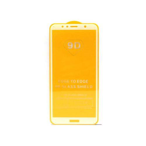 Защитное стекло 3D для Huawei Honor 7A Pro/Y6 2018 белый (техпак)