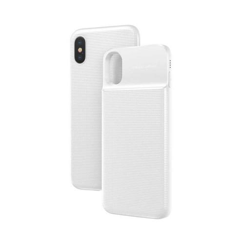 Чехол-аккумулятор ACAPIPH58-ABJ02 на iPhone X/XS белый BASEUS
