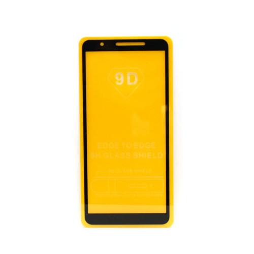Защитное стекло 3D для Samsung Galaxy A01 Сore черный (техпак)