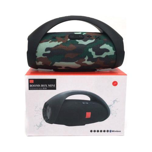 Портативная колонка BOOMS BOX MINI E10 камуфляж JB