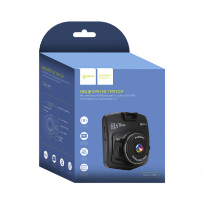 Видеорегистратор C318 (1080p, 30 fps, угол обзора 90, AVI) черный DREAM