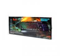 Клавиатура игровая SBK-310G-K RUSH ARMOR черный SMARTBUY