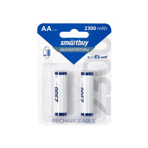Аккумуляторные батарейки R6 2300mAh SMARTBUY 2шт.