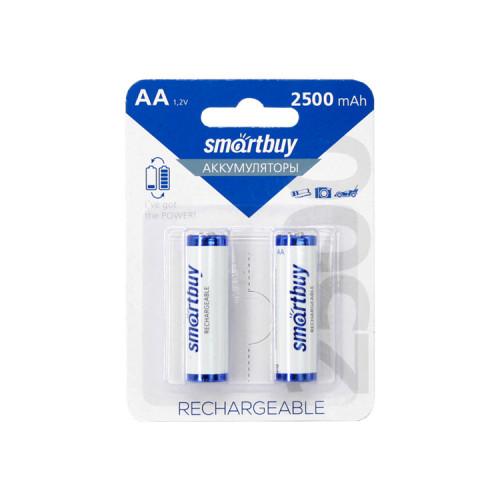 Аккумуляторные батарейки R6 2500mAh SMARTBUY 2шт.