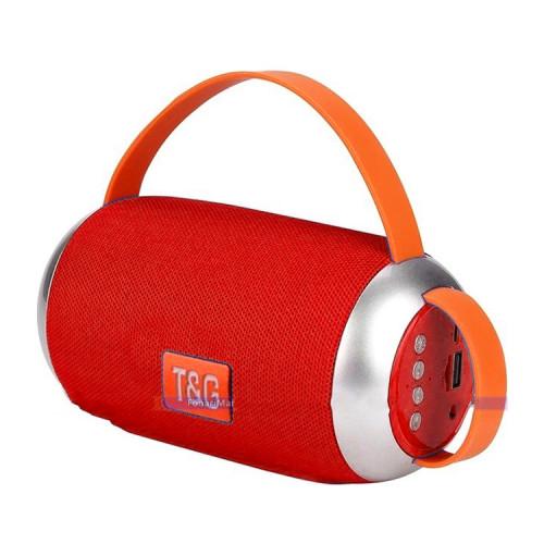 Портативная колонка TG-112 красный T&G