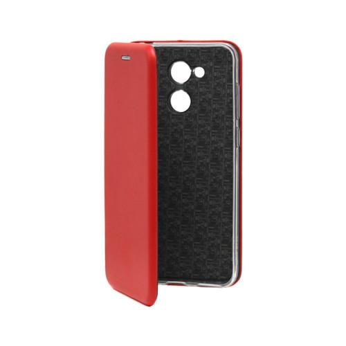 Чехол-книжка для Huawei Honor 6C Pro красный