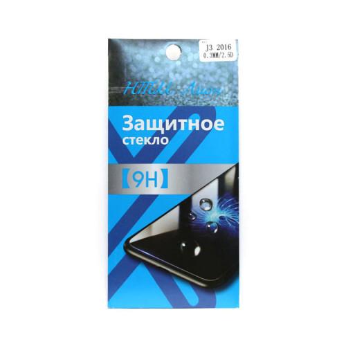 Защитное стекло 2.5D для Samsung Galaxy J3 2016 прозрачное
