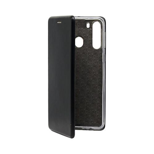 Чехол-книжка для Samsung Galaxy A21 черный