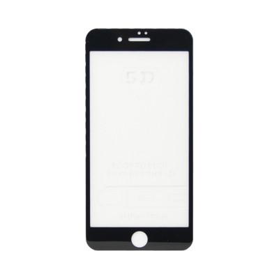Защитное стекло 5D для Apple iPhone 7+/8+ черный (техпак)
