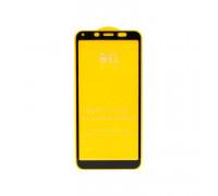 Защитное стекло 3D для Xiaomi Redmi 7A черный (техпак)