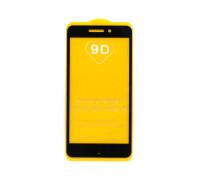 Защитное стекло 3D для Xiaomi Redmi 4A черный (техпак)