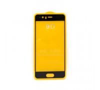 Защитное стекло 3D для Huawei P10 черный (техпак)