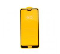 Защитное стекло 3D для Huawei P20/ Honor 10 черный (техпак)