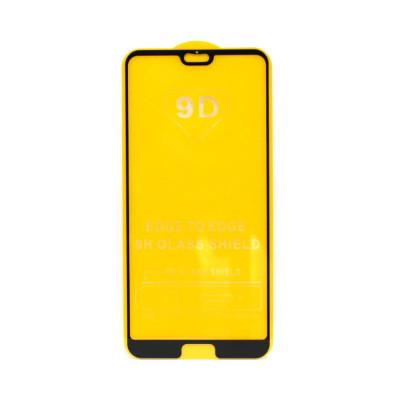 Защитное стекло 3D для Huawei P20 Pro черный (техпак)